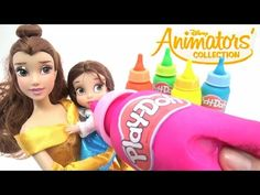 Disney Princess Cinderella Pregnant Baby Play-Doh Surprise Eggs Toys Learn Colors Finger Family - YouTube