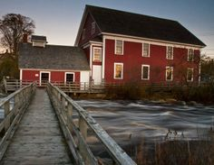 Woolen Mill Museum - Barrington, NS See Nova Scotia's first piece of NS Tartan and try weaving it yourself!  Located along the beautiful Barrington River. Within walking distance to three other museums, including the Seal Island Light Museum.