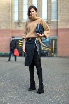 London fashion week: focus sullo street style delle Chelsea girls  - Gioia.it