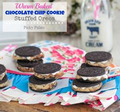 Chocolate Chip Cookie Stuffed Oreos 3 text