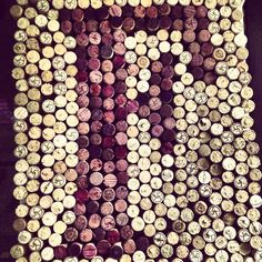 Wine cork Initial or letter