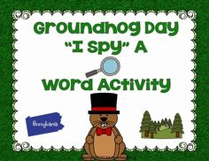LMN Tree: Groundhog Day: Free Resources, Craft Ideas, Books, and Free Activities