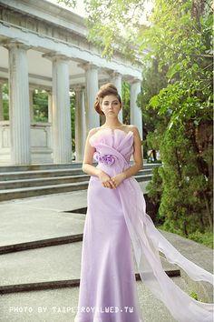 Purple dress - TaipeiRoyalWed.tw 台北蘿亞結婚精品 紫色晚禮服