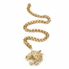 Gabriele Frantzen, Tame Tiger Pendant, Gold