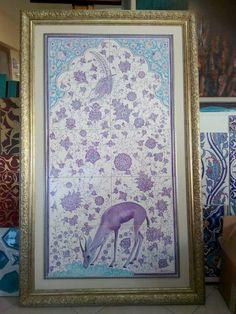 Lotus, Tiles, Ornaments, Frame, Prints, Home Decor, Wall Tiles, Homemade Home Decor, A Frame