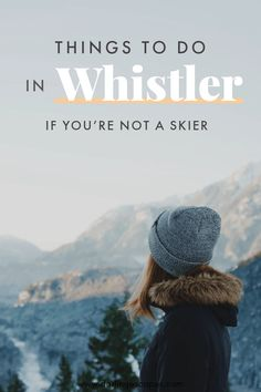 Putting together a winter itinerary for Whistler but wondering if there will be enough things to do in the area for a non-skier? We've put together a list of ten incredible activities in Whistler for non-skiers! Putting together a winter Pvt Canada, Visit Canada, Vancouver, Toronto, Canada Travel, Travel Usa, Solo Travel, Luxury Travel, Nova Scotia