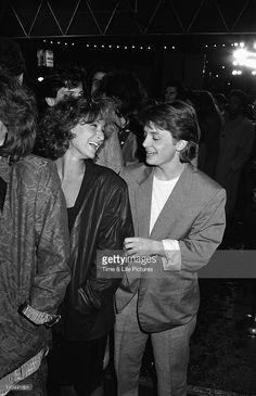 Michael J. Fox and Jennifer Grey 1986