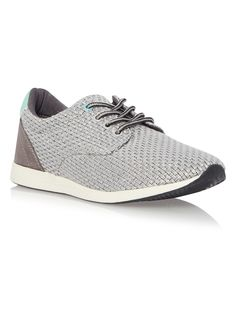 An essential accompaniment to your athleisure collection, these grey runner…