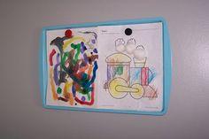 Ways to display childrens artwork