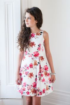 Girls Designer Dresses by David Charles. Spring Summer 2015. 6yrs ...