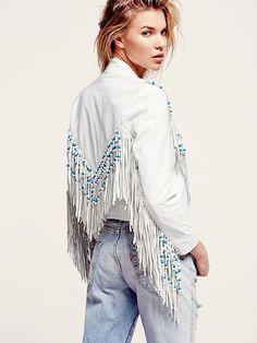 8d64fbb3c0f Free People Hendrix Fringe Leather Jacket