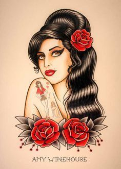 amy winehouse tattoo - Recherche Google