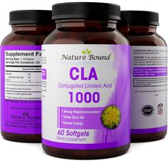 Best CLA Safflower Oil Complex for Women   Men - Natural Energy   Weight Loss Supplement - Fast Metabolism Boost from Pure Safflower Oil - Fat Burner Diet Pills - Suppress Appetite - Nature Bound >>> See this great product.