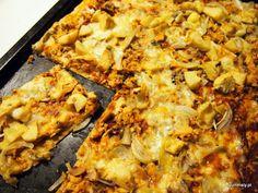 #Pizza z karczochami, łososiem i mozzarellą. Mmm! #foodporn #diy