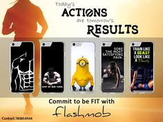 Commit to be FIT with Flashmob Printed Covers !   Available for more than 40 models. GRAB NOW !!  For orders contact : 7838541144