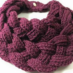 Crochet braided neck warmer, cowl Cute cowl, verysoft and stylish. handmade Accessories Scarves & Wraps