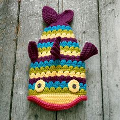 • Crochet Fish Hat
