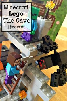 This is the Minecraft The Cave Lego Set - Check out the coolest #Lego set for fans of #Minecraft!