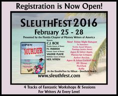 Registration is open for SleuthFest 2016