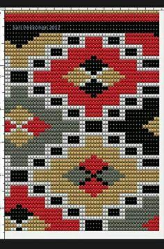 This Pin was discovered by Ann Crochet Bedspread Pattern, Tapestry Crochet Patterns, Bead Loom Patterns, Cross Stitch Patterns, Mochila Crochet, Bag Crochet, Crochet Purses, Loom Bands, Tapestry Bag