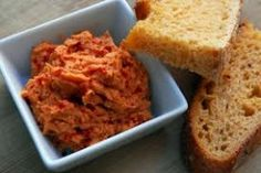 Sun-Dried Tomato Dip with Rosemary / Basil Olive Oil Recipe More
