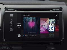 Albums - CarPlay - UX
