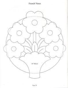 51 Ideas Flower Quilting Designs Paper Piecing For 2019 Hand Quilting Patterns, Applique Quilt Patterns, Applique Templates, Hand Applique, Quilting Projects, Quilting Designs, Embroidery Patterns, Patch Quilt, Quilt Blocks