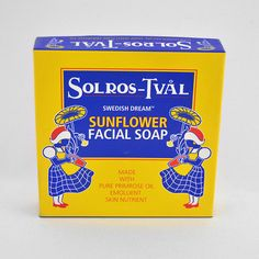 Swedish Dream Sunflower Facial 4 Pack Soap - Made from sunflower oil, a rich emollient high in fatty acids, and rare evening primrose oil, Sunflower Facial Soap is extremely beneficial in the daily cleansing of very dry or aged facial skin.