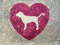 Heart Dog Bling #PINK