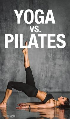 Yoga VS. Pilates. They both pack a punch... but which helps you #makefithappen the most?