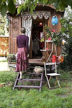 ❀ Gypsy Living ❀.....Caravan life...