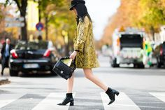Paris Street Style-Outfit Inspiration From Paris Fashion Week