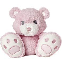 "Aurora World Inc. - 10"" BABY TADDLES BEAR - PINK"