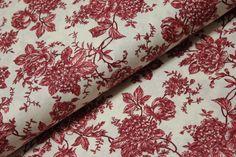 Cihlově červené květy na vanilkové