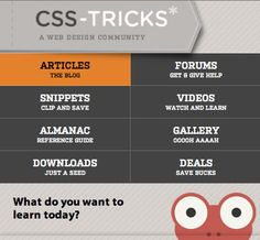 CSS Tricks responsive design navigation for different devices.