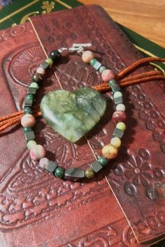 rhodonite-and-hematite-healing-bracelet #bracelets #rhodonite #hematite #jasper #beads