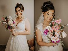 Como escolher a grinalda ideal para seu casamento? Lace Wedding, Wedding Dresses, Boho, One Shoulder Wedding Dress, Fashion, Dress Wind, Classic Style, Stylish Hairstyles, Engagement