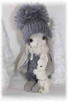 Gray and White by Sadovskaya Tatiana