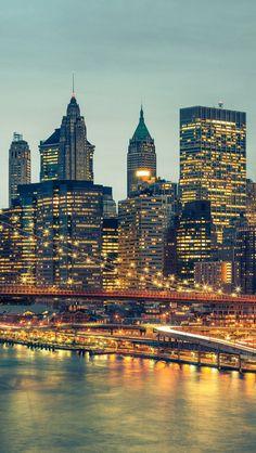 Manhattan New York ~ Night Time.