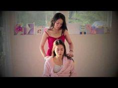 ASMR Relaxing Hair Brushing w/ Face & Scalp Massage - YouTube