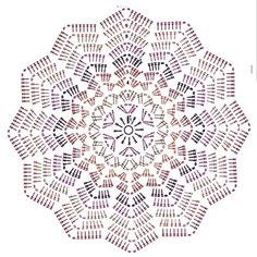 24 Ideas For Crochet Rug Circle Tutorials Col Crochet, Crochet Doily Rug, Crochet Table Runner Pattern, Free Crochet Doily Patterns, Crochet Circles, Crochet Quilt, Freeform Crochet, Crochet Chart, Crochet Flowers