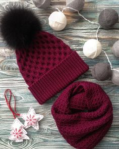 - Knit and Crochet - Awesome knitted and crocheted items and patterns. Knitting Machine Patterns, Crochet Patterns, Knit Crochet, Crochet Hats, Cute Beanies, Hat And Scarf Sets, Baby Hats Knitting, Knitting Accessories, Knitted Bags