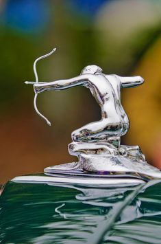 1935 Pierce Arrow 845 Coupe Hood Ornament Photograph