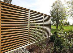 Schallschutz, Lärmschutz reflektierend oder absorbierend in Holz, Kiefer, Lärche - Limes für Ballungszentren, öffentlichen und privaten Grund • Braun & Würfele