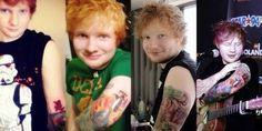Music Tattoo Sleeve Men Ed Sheeran 70 Trendy Ideas Music Tattoo Sleeves, Tattoo Music, Sleeve Tattoos, Step Music, Good Music, Ginger Kids, Concert Crowd, Music Studio Room, Festival Costumes