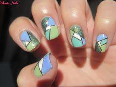 Shani's Nails: Sunday Nail Battle / Ongles mosaïque