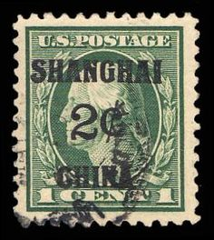 Scott# K1, 1919 2c on 1c Green, PSE XF 90J, Used. http://www.collectorscorner.com/Products/Item.aspx?id=14592321. #BackOfTheBook #Shanghai #Overprinted #Philately #Stamps #ForSale #PSE #Green #TwoCents #Scott #Catalogue #Used #ExtraFine #Postage #Online #Marketplace
