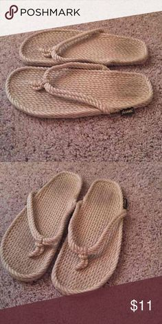 d879a53c504290 Men s rope sandals Worn a lot but good condition overall! Shoes Sandals   amp  Flip