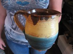 Hand Thrown Pottery Milk / Juice Pitcher by beanntony on Etsy, $24.00