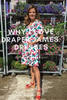 Why I love Draper James--the dresses are very friendly